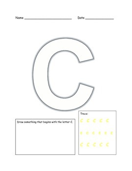Alphabet Practice Workbook
