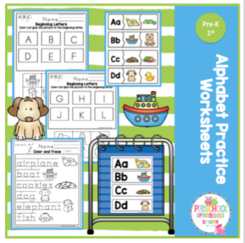 Alphabet Practice Worksheets