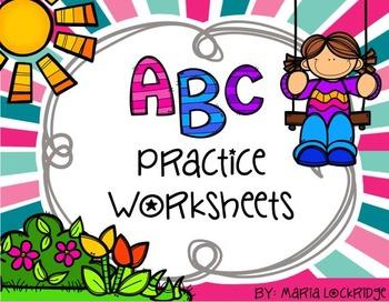 Alphabet Practice (Write, Draw, Capital/Lowercase ID, Soun
