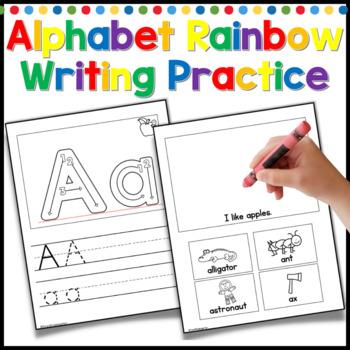 Alphabet Practice and Rainbow Writing