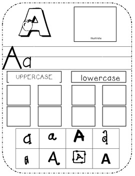 Alphabet Practice and Review
