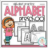 Alphabet Practice for Preschool 5 Sets