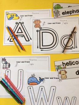 Alphabet Practice for Toddlers 2 Sets
