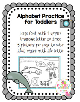 Alphabet Practice for Toddlers