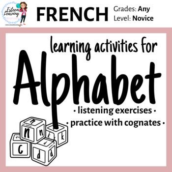 Alphabet Practice in French