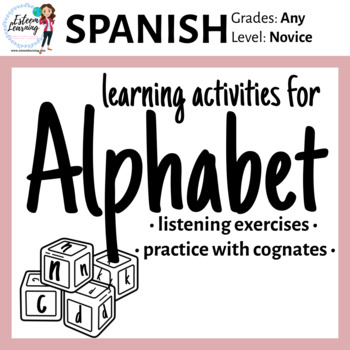 Alphabet Practice in Spanish