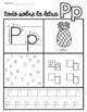 Alphabet Practice worksheets- Spanish