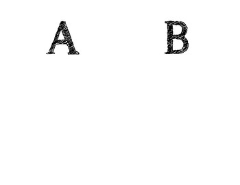 Alphabet Prayers Template