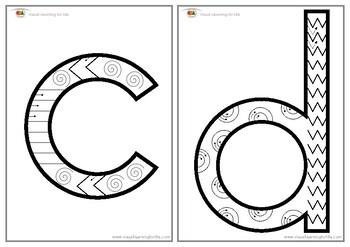Alphabet Pre-Writing Fun