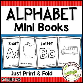Alphabet Print & Fold Mini ... by Karen Cox   Teachers Pay ...