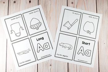 Alphabet Print & Fold Mini Books