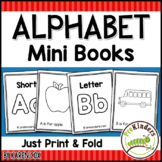 Alphabet Print & Fold Mini Books
