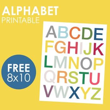 Alphabet Print/Poster