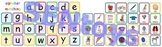 Alphabet Printable File Folder Game PDF - Matching Picture