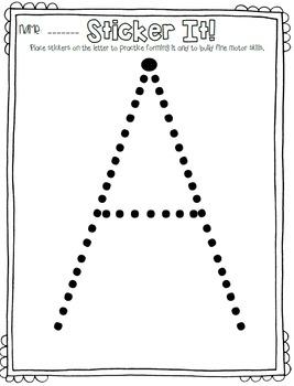 Alphabet Printable Freebie