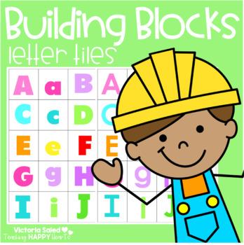 Alphabet Printable: Letter Tiles