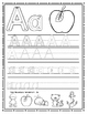 Alphabet Printable workbook and beginning sounds