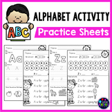 Alphabet Tracing Worksheets| Letter Sound and Letter Recognition