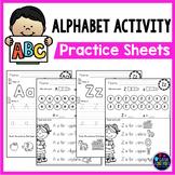 Alphabet Tracing Worksheets| Alphabet Worksheets A-z