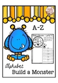 "Alphabet Writing for ""Alphabet Letter of the Week"""