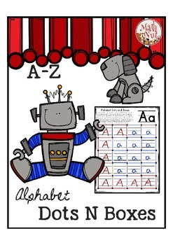 Alphabet Writing Game for Letter of the Week