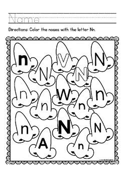 "Letter Recognition ""Alphabet Letter of the Week"""