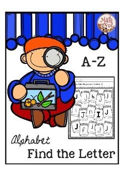 Letter Recognition for Alphabet Letter of the Week