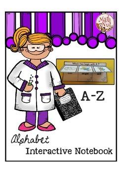 "Alphabet Interactive Notebook ""Alphabet Letter of the Week"""