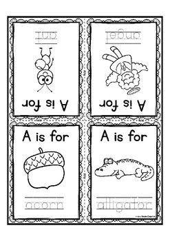 Alphabet Book for Letter of the Week