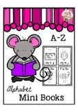 "Alphabet Mini Books ""Alphabet Letter of the Week"" Site Words"