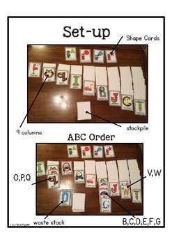 """Alphabet """"Picture Cards"""" (Alphabet Letter of the Week)"""