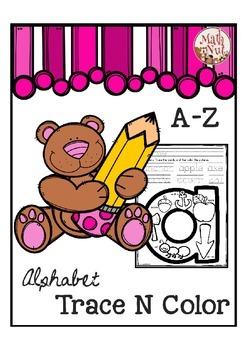 """Alphabet """"Tracing Words with Letter Sound"""" (Alphabet Writing)"""