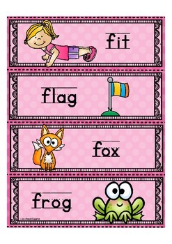 """Alphabet """"Word Wall Cards"""" (Alphabet Letter of the Week) site words"""