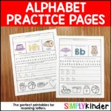 Alphabet Printables - Alphabet Practice Pages