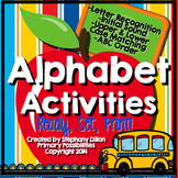Alphabet Printables { ABC Printables }