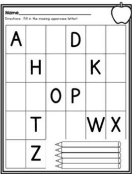 photo relating to Abc Printable named Alphabet Printables ABC Printables