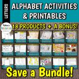 Alphabet Activities & Printables BUNDLE & SAVE