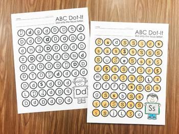 Alphabet Printables Bundle
