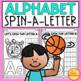 Let's Spin A Letter! Alphabet Printables for your Letter Of The Week Program!