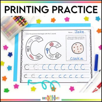 Handwriting: Alphabet Printing Practice