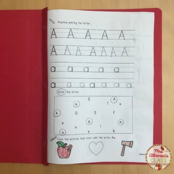 Alphabet Printing Book