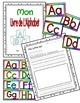 Alphabet Printing Book-Posters and Wordwall Letters-for French Immersion and FSL