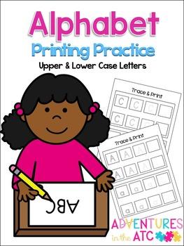 Alphabet Printing Practice