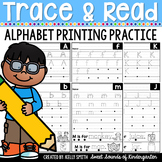 Alphabet Printing Practice {Alphabet Tracing}