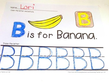 Alphabet Printing Practice Worksheets