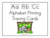 Alphabet Printing Tracing Cards