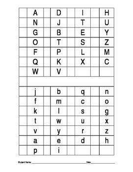 Alphabet Probe