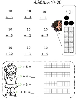 Homework Helpers Addition with tens and ones