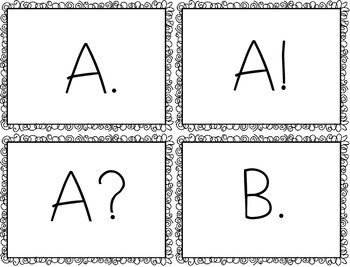 Alphabet Prosody and Fluency Activity