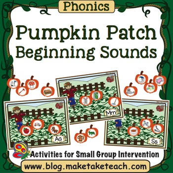 Alphabet - Pumpkin Patch Beginning Sounds